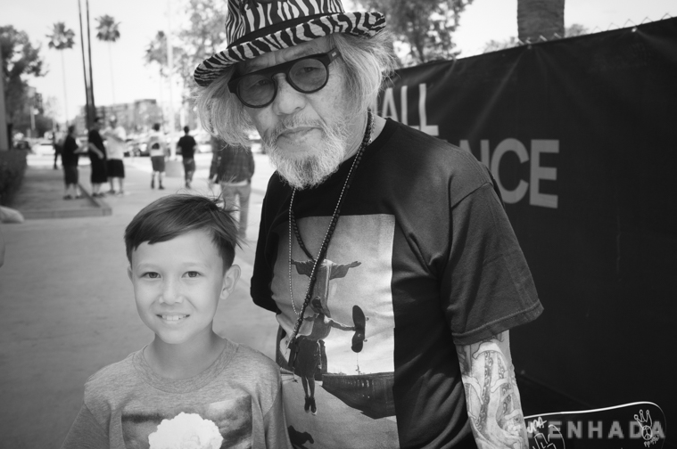 Apollo Hada and Pops Hosoi