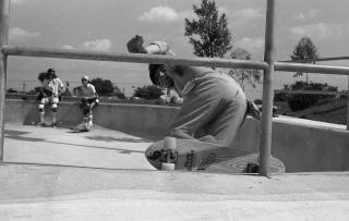 Skatopia vintage skateboard pictures Perry Peterson Skatopia pool
