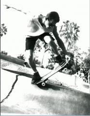 olschool skateboarding picture