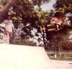 sadlands vintage skateboarding picture
